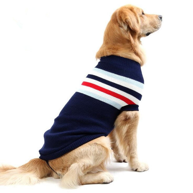 Large Pet Dog Sweater Cute Dog Clothes