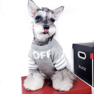 Designer Dog Sweater S-XXL