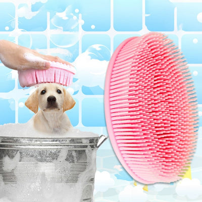 soft Bath Brush for dog