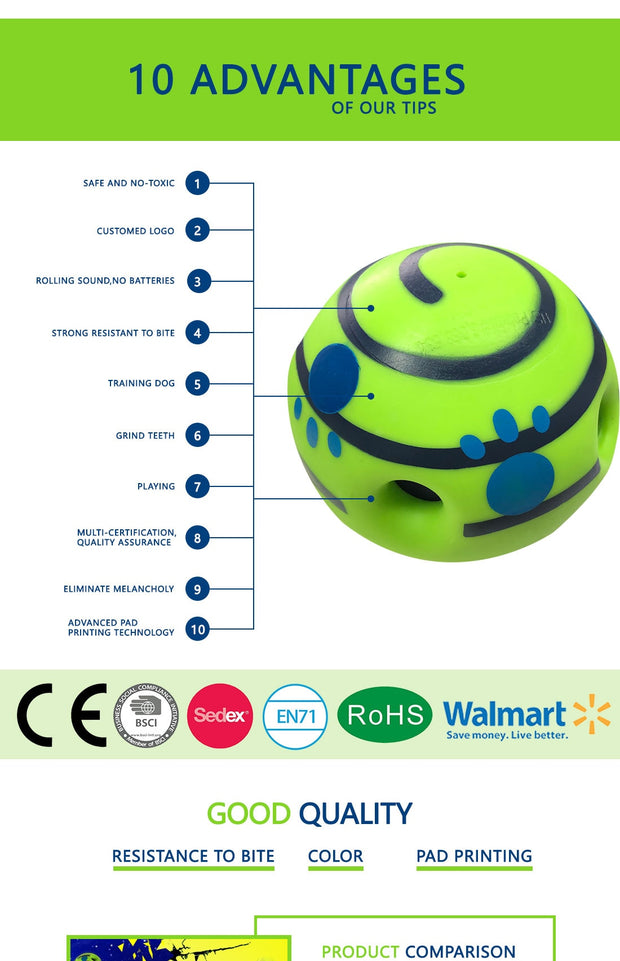 Interactive Toy Ball