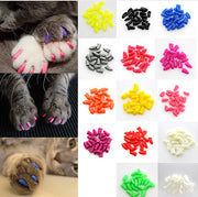 20Pcs Colorful Soft Pet Dog Cat Kitten Paw Claw