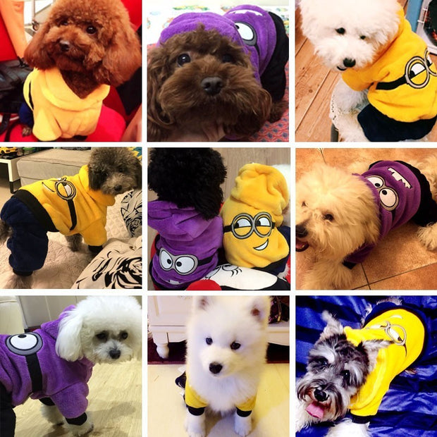 Cute Dog Clothes Hoodie Pet Clothes