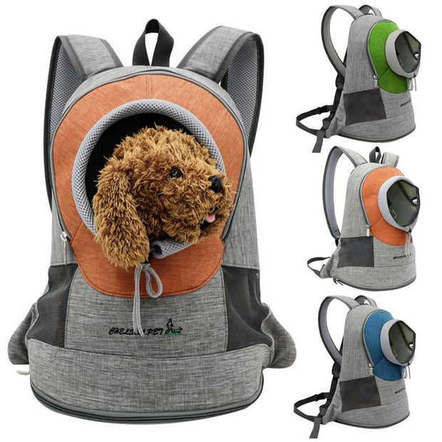 pets carry backpack
