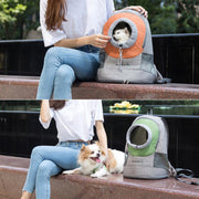 Pet Dog Cat Outdoor Travel Breathable Bag