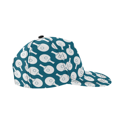 Ping Pong Pattern Print Design A02 Snapback Hat
