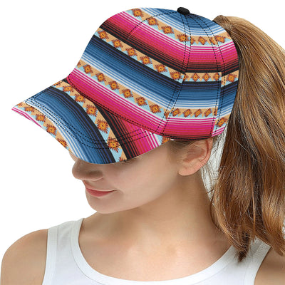 Mexican Pattern Print Design 03 Snapback Hat