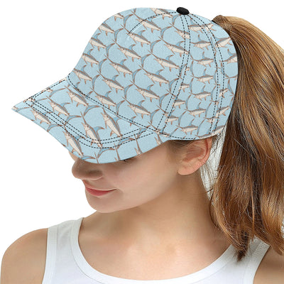 Swordfish Pattern Print Design 01 Snapback Hat