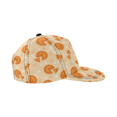 Pie Pattern Print Design A01 Snapback Hat