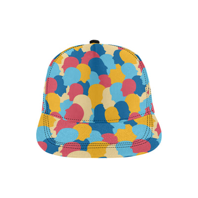 Psychology Pattern Print Design A02 Snapback Hat
