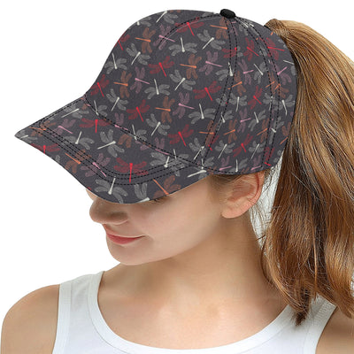 Dragonfly Pattern Print Design 01 Snapback Hat