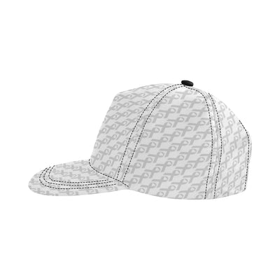 Brain cancer Pattern Print Design 02 Snapback Hat