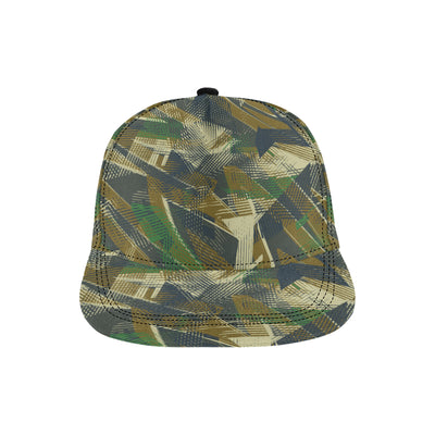 Military Camouflage Pattern Print Design 01 Snapback Hat