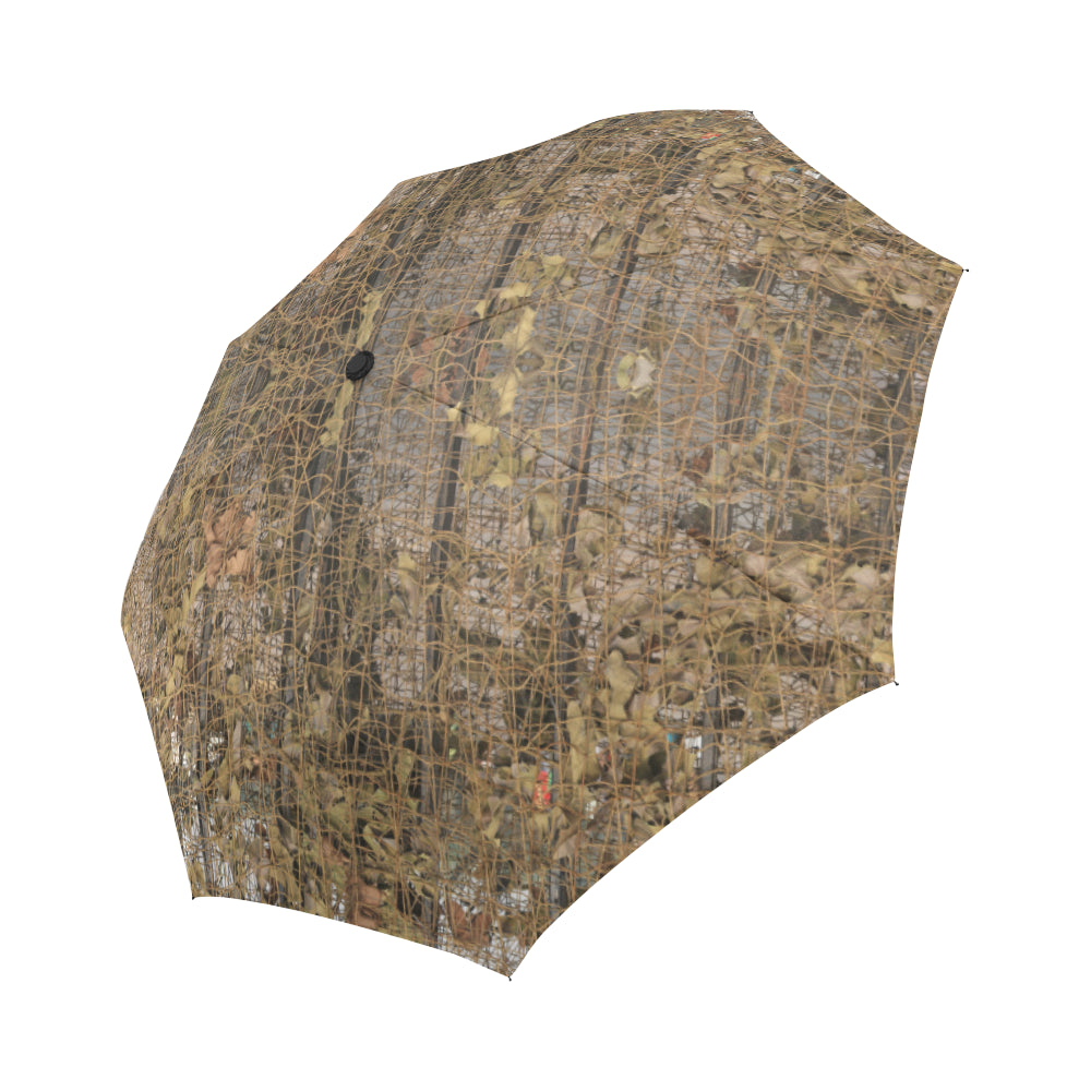 Camouflage Realtree Pattern Print Design 01 Automatic Foldable Umbrella