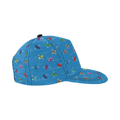 Kayak Pattern Print Design 03 Snapback Hat