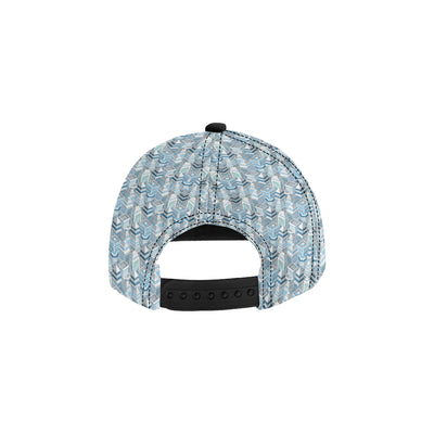 City  Pattern Print Design 03 Snapback Hat
