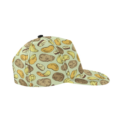 Potato Pattern Print Design A03 Snapback Hat