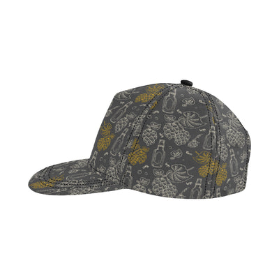 Hope Pattern Print Design 01 Snapback Hat