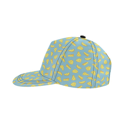 Cheese Pattern Print Design 04 Snapback Hat