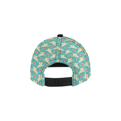 Cupid Pattern Print Design 01 Snapback Hat