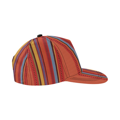 Mexican Pattern Print Design 05 Snapback Hat