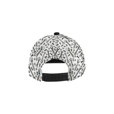 Mechanic Pattern Print Design 03 Snapback Hat