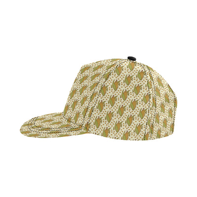 Corn Pattern Print Design 01 Snapback Hat