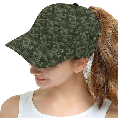 Army Camouflage Pattern Print Design 02 Snapback Hat