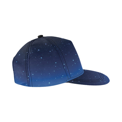 Night sky Pattern Print Design A01 Snapback Hat