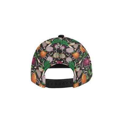 Onion Pattern Print Design A03 Snapback Hat