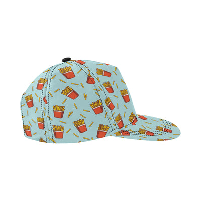 French Fried Pattern Print Design 02 Snapback Hat