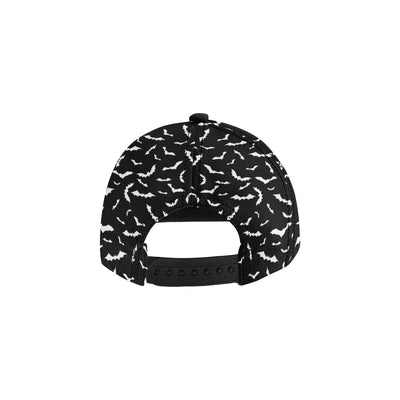 Bat Pattern Print Design 05 Snapback Hat