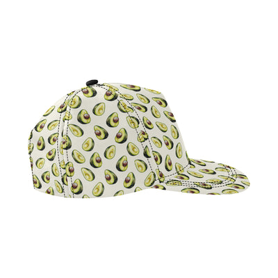 Avocado Pattern Print Design 01 Snapback Hat