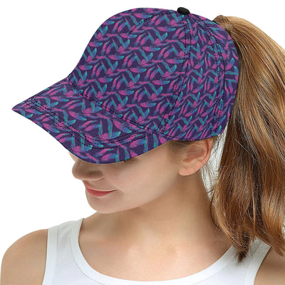 Banana Leaf Pattern Print Design 08 Snapback Hat