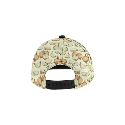 Onion Pattern Print Design A02 Snapback Hat