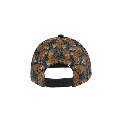 Jaguar Pattern Print Design 04 Snapback Hat
