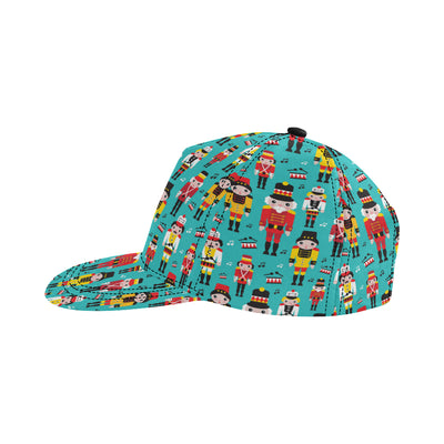 Nutcracker Pattern Print Design A03 Snapback Hat