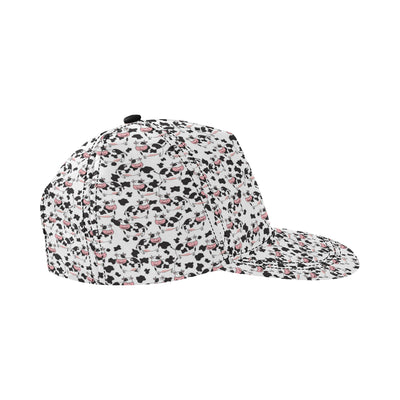 Cow Pattern Print Design 02 Snapback Hat