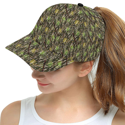 Camouflage Realtree Pattern Print Design 02 Snapback Hat