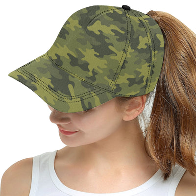 Military Camouflage Pattern Print Design 02 Snapback Hat