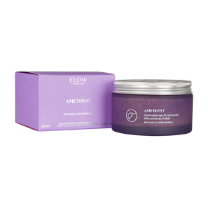 FLOW COSMETICS Amethyst Body Polish