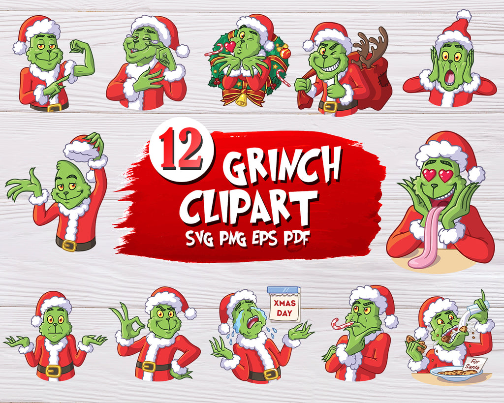 Grinch Svg Christmas Svg Bundle Face Svg Hand Svg Dxf Png Santa Svg Designs For Cutting And Printing • 1 svg cut file for cricut, silhouette designer edition and more • 1 png high resolution 300dpi • 1 dxf for free version of silhouette cameo • 1 eps vector file for adobe illustrator, inkspace, corel draw and more. grinch svg christmas svg bundle face svg hand svg dxf png santa shirt disney svg hand holding ornament cricut cut file