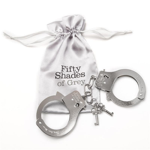 Fifty Shades of Grey You Are Mine Manette in Metallo - Sex Toys SexyGioie