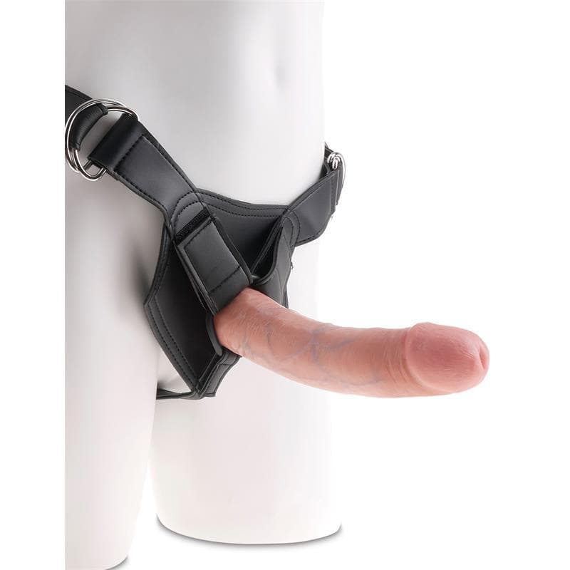 Strap-On Harness + Dildo 21.6 cm - Sexy Gioie