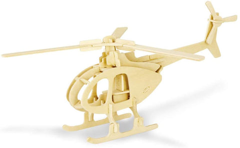 wooden toy helicopter puzzle
