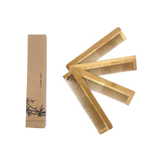 bamboo combs with recycled box