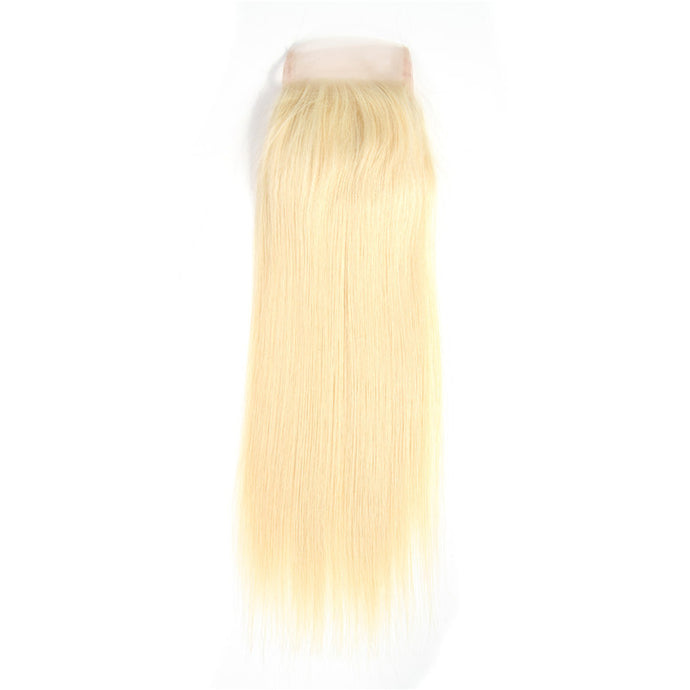 Blonde Straight Closure