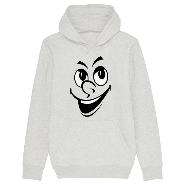 Sweat à capuche bio