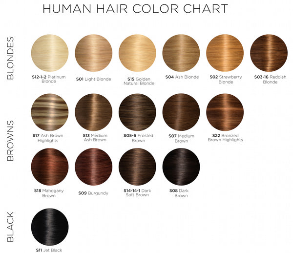 Soho Hair Extension Color Chart Soho Style