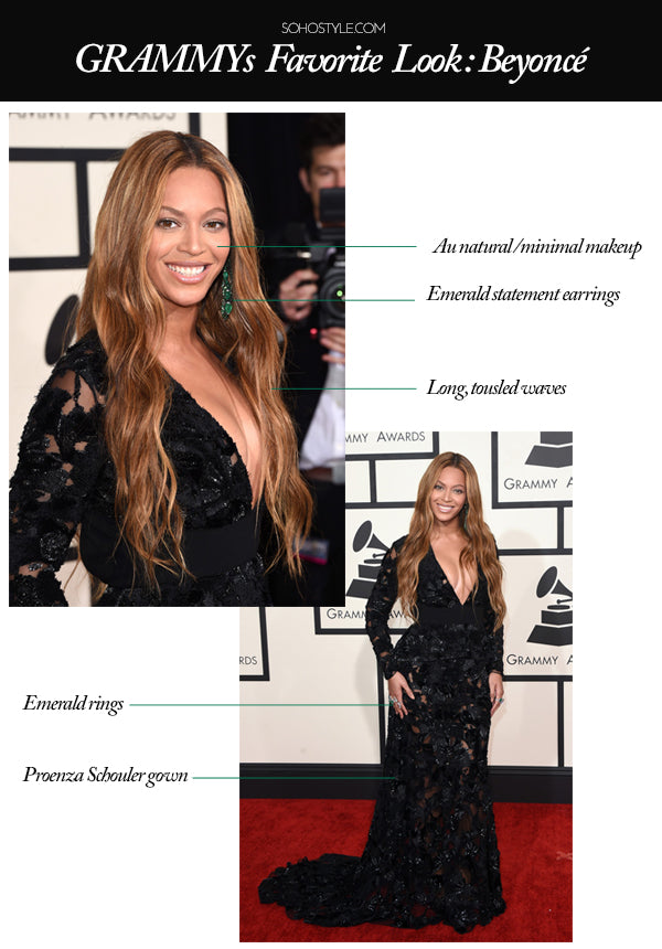 Soho Style GRAMMYs Get The Look: Beyonce Hair