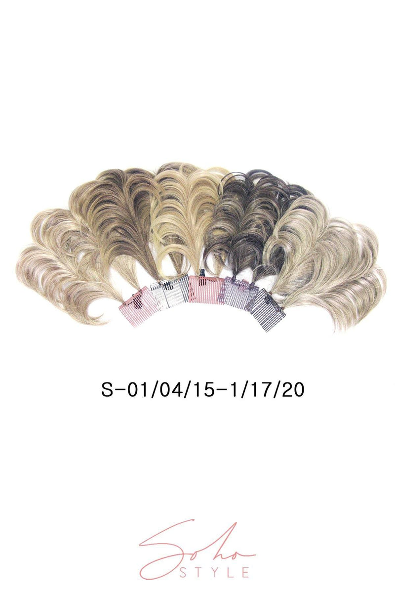 Tiffany - Short Wired Updo Extension Hair Extension Soho Style